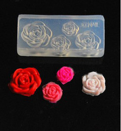 Wholesale NEW D Acrylic Silicon Nail Art Mold DIY Decoration Tool Nail Art Acrylic Mold Acrylic powder mold