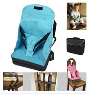Wholesale 20pcs Go anywhere Baby boost seat seats High Chair booster Baby booster seat dining feeding seats BB