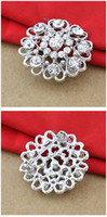 Wholesale Fashion WEDDING Alloy Rhinestone Brooches SHIPPING NA168