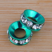 Wholesale Nice Crystal Colorful Beads mm Space Beads Basketbal Wives Beads Top Sale
