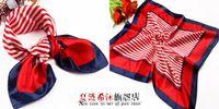 Wholesale colorful Professional silk scarf stewardess silk scarf telecom bank scarf mix hand towel