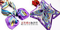 Wholesale 2012 Professional silk scarf stewardess silk scarf telecom bank scarf hand towel color