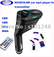 Wholesale car mp3 player driver with usb sd aux M338TA DR transmitter