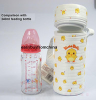 Bottle, Food Sterilizers & Warmers baby cooler bottle bags - baby feeding bottle warmer cooler carrier bag single bottle