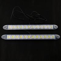 Wholesale 2x LED Daytime Running Light Day Fog Lamp DRL Super White V DC