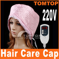 Wholesale Hair Thermal Treatment V Beauty Steamer SPA Cap Hair Care Nourishing with Digital Display H8156