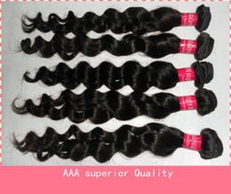 Wholesale Mixed size Malaysian virgin hair Queen hair products Natural wave