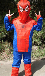 Wholesale spider man spiderman stage cartoon clothes performance clothing costumes children garment