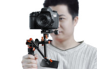 Wholesale DSLR Camera Rig Sniper DUAL Handle Luxurious Model DSLR Shoulder Bracket HDSLR video bracket Mag