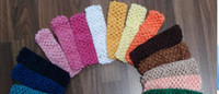 Party baby value - EMS freeshipping crochet headbands baby new born girl hairbow value pack