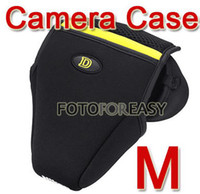 Wholesale Neoprene Case Bag Pouch for Nikon DSLR D40 D60 D3000 D3100 D5000 D5100 Camera M
