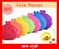 Wholesale Silicone Coin Purse Lovely Coin Bag Silicone Money Bag Puse Japanese Style Coin Wallet