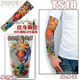 Wholesale Hot Tattoo Sleeve With A Seam For Ventilation Styles In Stock Mixed Order