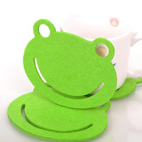 Lovely Heat Insulation Pad with Frog Shape Practical Tablema...
