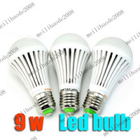 Wholesale 5pcs F94 W LED Lamp Bulb V V Natrue Warm Cool White Light Energy Saving Bright E27