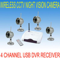 Wholesale 2 G Camera Wireless IR Camera USB DVR Video Security Surveillance System