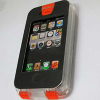 Wholesale Promotion Underwater Mobile case for iPhone4 Waterproof case for iPhone4s meters underwater