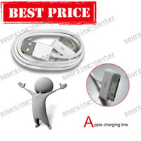 Wholesale White Color Pin USB Data Charging Cable for iPhone s g IPad2 Cell Phone