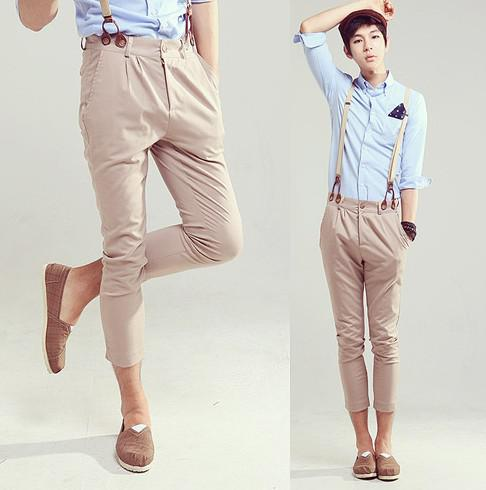 2012 New Fashion Korea Style Men 39 S Casual Pants Casual