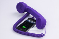 Wholesale Retro Handset for Radiation protection with answer key amp voice control mm