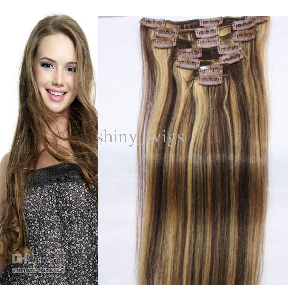Clip In Human Hair Extensions Cheap 17
