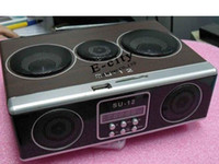 su12 - Retro Mini Sound box MP3 player Mobile Speaker boombox FM Radio SD Card SU12 Speaker