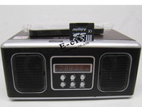 Wholesale Retro Mini Speaker MP3 Music player boombox With FM Radio SU12 Speaker Via