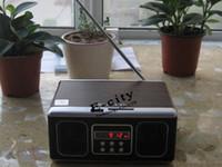 Wholesale 100 Retro Mini Speaker MP3 Music player With FM Radio SU12 Speaker