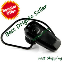 Universal   Best Selling BH-320 Bluetooth Handsfree Headset Headphone Earphone Black (6HTalk Time 110H Standby)