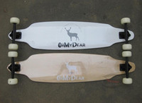 Wholesale OHMYDEAR Professional long skateboard longboard Canadian Maple Material skateboard