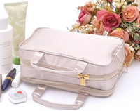 Wholesale Champagne color wash gargle bag Makeup bag Receive bag Finishing bag
