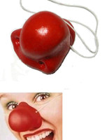 clown nose - Funny Red Clown Silicone Nose Cosplay Party Halloween favors supply
