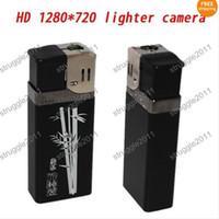 Wholesale New HD P Metal Lighter Spy Hidden Camera Video Recorder DVR USB U Disk
