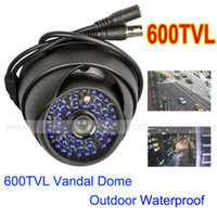 Indoor ccd dome camera - 600TVL SONY COLOR CCD Leds CCTV Vandal Dome Camera Wide Angle Good Vision