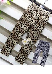 Wholesale Girls Leopard Print Leggings Girls Leggings Girls Summer Clothes Kids Clothes Children Garment