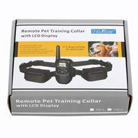 Wholesale Dog Training Shock Collars with Levels and LCD DISPLAY Remote Control for One Dog