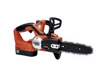 Wholesale black amp decker V cm rechargeable cordless chain saw with origial high power batery and charger