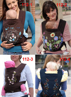 Wholesale Mei tais Mei Tai Baby Carriers Front back Hip carry in embroidered MeiTai carrier