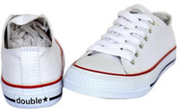 Wholesale brand Double Star Unisex canvas shoe Low Top amp High Top Sport Shoes Sneakers C2013