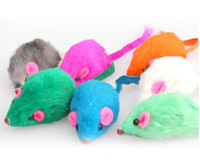 Wholesale Lovely Brand New Hot Sale Bright Coloured Little Funny Mouse Toys For Pets