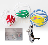 Wholesale Colorful Brand New Funny Gift Play Toys Mouse Ball For Pet Cat Kitten