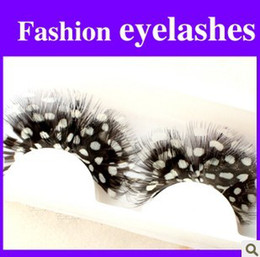 Wholesale Pairs High Quality Feather Handmade Eyelashes FALSE Eyelash Party EYELASH EYE LASH