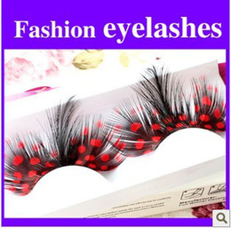 Wholesale Pair High Quality Feather Handmade Eyelashes FALSE Eyelash Party EYELASH EYE LASH