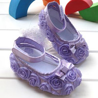 Girl Slip-On Cotton Baby Shoes First walker boots Girls boys 2012 kids Children's shoes flower 0621 A