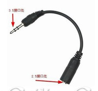 Wholesale 3 mm Male to mm Female Headset Audio Adapter Cable