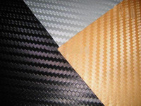 Wholesale by china post best selling width meter D Stereo carbon fiber car decals