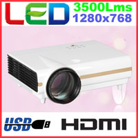 Wholesale HD Ready Home Projector LED Lamp Hrs LCD Display Native P i P Support