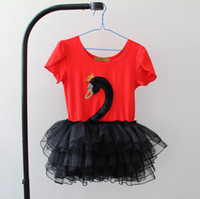 Girl's one piece dress 2012 summer short sleeve tutu dresses...