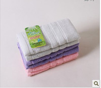 Wholesale Bamboo fiber towel creative towel baby towel bibulous towel