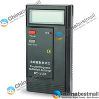 Wholesale New DT Electromagnetic Radiation Detector Hz MHz EMF Meter Tester Electronics Gadgets